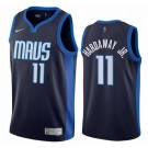 Men's Dallas Mavericks #11 Tim Hardaway Jr Navy 2021 Earned Icon Hot Press Jersey