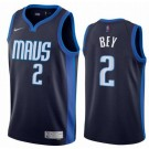 Men's Dallas Mavericks #2 Tyler Bey Navy 2021 Earned Icon Hot Press Jersey