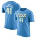 Men's Dallas Mavericks #41 Dirk Nowitzki Printed T-Shirt 0707