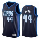 Men's Dallas Mavericks #44 Nicolo Melli Navy 2021 Earned Icon Hot Press Jersey