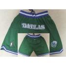 Men's Dallas Mavericks Green Just Don Shorts