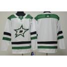 Men's Dallas Stars Customized White Authentic Jersey
