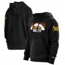 Men's Denver Nuggets Black 2021 City Edition Fleece Pullover Hoodie