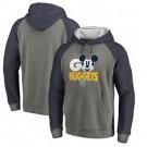 Men's Denver Nuggets Gray 1 Printed Pullover Hoodie