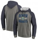Men's Denver Nuggets Gray 2 Printed Pullover Hoodie