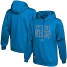 Men's Detroit Lions Blue School of Hard Knocks Pullover Hoodie