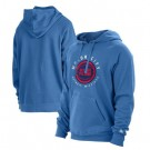 Men's Detroit Pistons Blue 2021 City Edition Fleece Pullover Hoodie