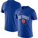Men's Detroit Pistons Printed T-Shirt 0901