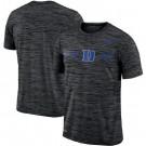 Men's Duke Blue Devils Black Velocity Sideline Legend Performance T Shirt 201042
