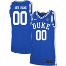 Men's Duke Blue Devils Customized Blue 2019 College Basketball Jersey