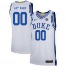 Men's Duke Blue Devils Customized White 2019 College Basketball Jersey