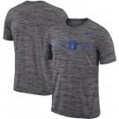 Men's Duke Blue Devils Gray Velocity Sideline Legend Performance T Shirt 201065