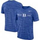 Men's Duke Blue Devils Roya Velocity Sideline Legend Performance T Shirt 201068