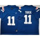 Men's Florida Gators #11 Kyle Trask Blue Throwback College Football Jersey