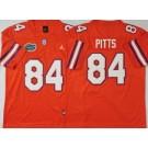 Men's Florida Gators #84 Kyle Pitts Orange College Football Jersey