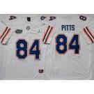 Men's Florida Gators #84 Kyle Pitts White College Football Jersey