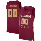 Men's Florida State Seminoles Customized Red 2019 College Basketball Jersey