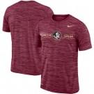 Men's Florida State Seminoles Garnet Velocity Sideline Legend Performance T Shirt 201045