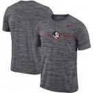Men's Florida State Seminoles Gray Velocity Sideline Legend Performance T Shirt 201053