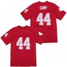 Men's Forrest Gump #44 Tom Hanks Red Football Jersey