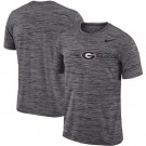 Men's Georgia Bulldogs Gray Velocity Sideline Legend Performance T Shirt 201069