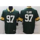 Men's Green Bay Packers #97 Kenny Clark Limited Green Vapor Untouchable Jersey