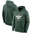 Men's Green Bay Packers Green 2020 NFL Playoffs Bound Shift Pullover Hoodie