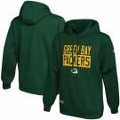 Men's Green Bay Packers Green School of Hard Knocks Pullover Hoodie