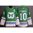 Men's Hartford Whalers #10 Ron Francis Green 2019 Authentic Jersey