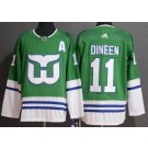Men's Hartford Whalers #11 Kevin Dineen Green 2019 Authentic Jersey