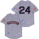 Men's Houston Astros #24 Jimmy Wynn Gray 1969 Throwback Jersey