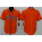 Men's Houston Astros Blank Orange 2020 Cool Base Jersey