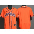 Men's Houston Astros Blank Orange FlexBase Jersey