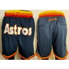 Men's Houston Astros Navy Just Don Shorts