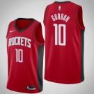 Men's Houston Rockets #10 Eric Gordon Red Icon Hot Press Jersey