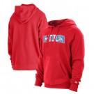 Men's Houston Rockets Red 2021 City Edition Fleece Pullover Hoodie