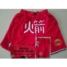 Men's Houston Rockets Red Chinese 1993 Just Don Swingman Shorts