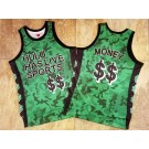 Men's Hulu Has Live Sports $$ Money Green Mesh Authentic Jersey