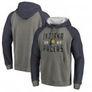 Men's Indiana Pacers Gray 2 Printed Pullover Hoodie