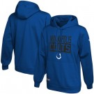 Men's Indianapolis Colts Blue School of Hard Knocks Pullover Hoodie