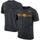 Men's Iowa Hawkeyes Black Velocity Sideline Legend Performance T Shirt 201050