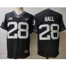 Men's Iowa State Cyclones #28 Breece Hall Black College Football Jersey