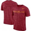 Men's Iowa State Cyclones Cardinal Velocity Sideline Legend Performance T Shirt 201070