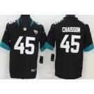 Men's Jacksonville Jaguars #45 K'Lavon Chaisson Limited Black Vapor Untouchable Jersey