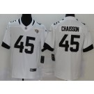 Men's Jacksonville Jaguars #45 K'Lavon Chaisson Limited White Vapor Untouchable Jersey