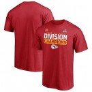 Men's Kansas City Chiefs Red 2020 NFL Playoffs Bound Shift T Shirt