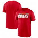 Men's Kansas City Chiefs Red Sideline Impact Legend Performance T Shirt 546