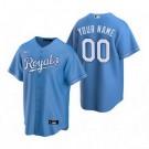 Men's Kansas City Royals Customized Light Blue Alternate 2020 Cool Base Jersey