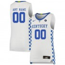 Men's Kentucky Wildcats Customized White 2019 College Basketball Jersey