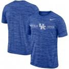 Men's Kentucky Wildcats Royal Velocity Sideline Legend Performance T Shirt 201062
